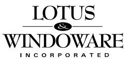 Lotus & Windoware Logo
