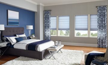 Color Lux Soft Roman Shades